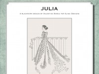 Ricamo Blackwork: Julia - Ebook da scaricare