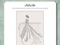 Ricamo Blackwork: Julia - Ebook da scaricare