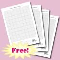 Griglie vuote per ricami a punto croce - PDF gratuito