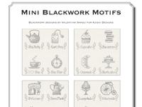 Valentina Sardu - Mini blackwork motifs – Schema cartaceo