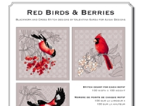 Valentina Sardu - Red birds & berries – Schema cartaceo
