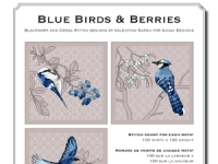 Valentina Sardu - Blue birds & berries – Schema cartaceo