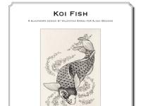 Valentina Sardu - Koi Fish – Schema cartaceo