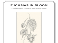 Valentina Sardu - Fuchsias in bloom – Schema cartaceo