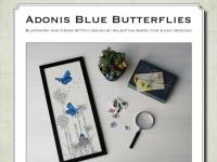 Ricamo Punto Croce e Blackwork: Farfalle Bellargo - Ebook da scaricare