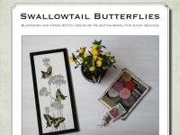 Ricamo Punto Croce e Blackwork: Farfalle Macaone - Ebook da scaricare