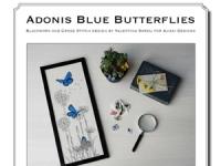 Valentina Sardu - Adonis blue butterflies – Schema cartaceo