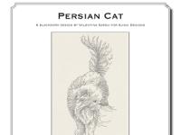 Valentina Sardu - Persian cat – Schema cartaceo