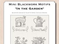 Mini motivi Blackwork: In giardino - Ebook da scaricare