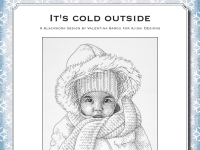Ricamo Blackwork: It's cold outside – Ebook da scaricare