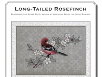 Valentina Sardu - Long-tailed Rosefinch  schema cartaceo