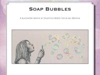 Ricamo Blackwork: Bolle di sapone - Ebook da scaricare