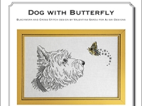 Valentina Sardu - Dog with butterfly – Schema cartaceo