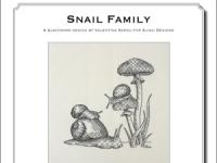 Valentina Sardu -  Snail family – Schema cartaceo