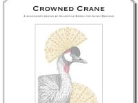 Valentina Sardu - Crowned Crane – Schema cartaceo