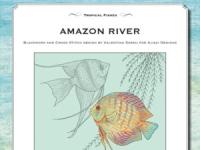Ricamo Punto Croce e Blackwork: Rio delle Amazzoni – Ebook da scaricare