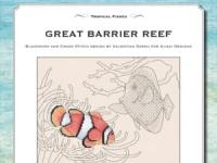 Ricamo Punto Croce e Blackwork: Grande Barriera Corallina – Ebook da scaricare