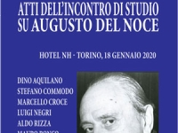 AA.VV. - Atti dell'incontro di studio su Augusto del Noce - Torino, 18 gennaio 2020