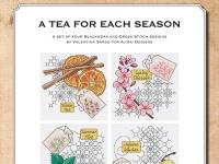 Ricamo Punto Croce e Blackwork: Un tè per ogni stagione – Ebook da scaricare