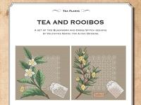 Ricamo Punto Croce e Blackwork: Tè e Rooibos – Ebook da scaricare