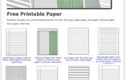 Modelli di carta gratuiti da stampare