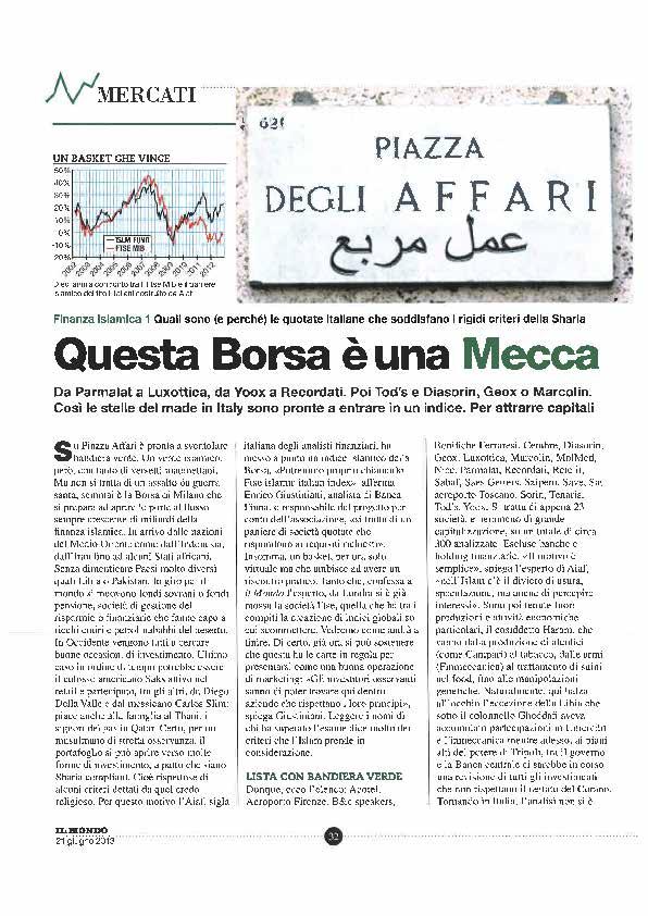 questa borsa è una mecca di Enrico Giustiniani Il Mondo n24 del 21giu13 articolo_Pagina_2