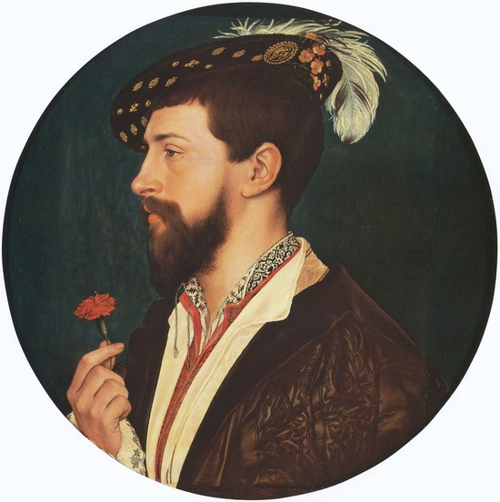 Simon George, by Hans Holbein the Younger (1533)