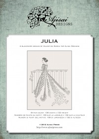 Ricamo Blackwork: Julia – Ebook da scaricare