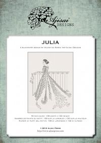 Ricamo Blackwork: Julia