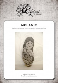Ricamo Blackwork: Melanie – Ebook da scaricare