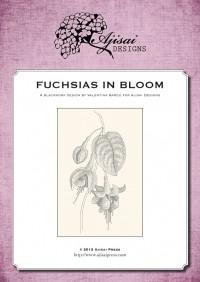Valentina Sardu <br />Ricamo Blackwork: Fuchsia<br /> Ebook da scaricare