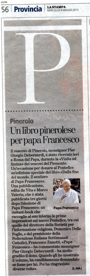 La stampa 8 maggio 2013