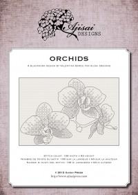 Valentina Sardu <br />Ricamo Blackwork: Orchidee<br /> Ebook da scaricare