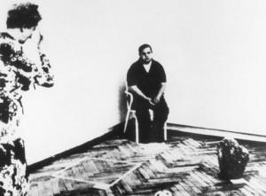 Biennale di Venezia. Seconda soluzione d'immortalità - Gino De Dominicis, 1972 -  L'unica fotografia dell'opera contestata e ritirata fu di Ennio Antonangeli