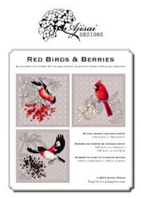 Valentina Sardu <br/>Red birds & berries – Schema cartaceo