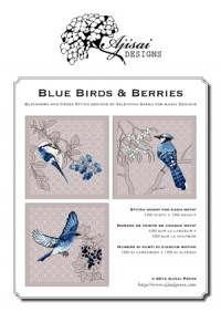 Valentina Sardu <br/>Blue birds & berries – Schema cartaceo