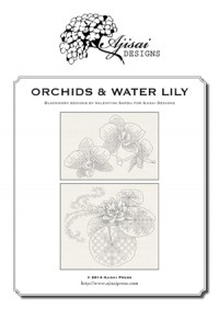 Valentina Sardu <br/>Orchids & Water Lily – Schema cartaceo