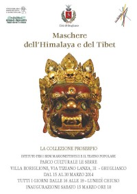 Maschere dell'Himalaya e del Tibet, la mostra