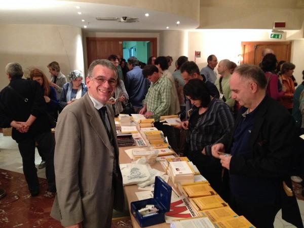 I libri di Marcovalerio Edizioni al Congresso Europeo del Kriya Yoga, aprile 2014