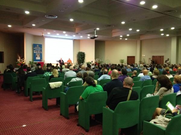 Sesto San Giovanni, aprile 2014, II congresso europeo di Kriya Yoga