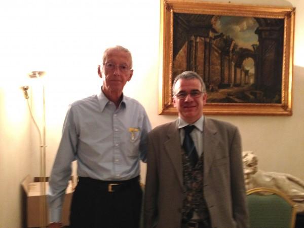 Roy Eugene Davis e Marco Civra a Sesto San Giovanni, MI, 26 aprile 2014