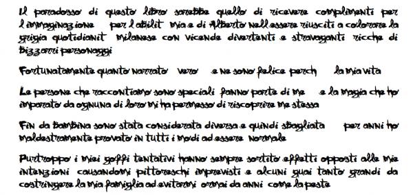 Un ottimo esempio di manoscritto che il redattore ordinario non leggerà oltre la prima riga