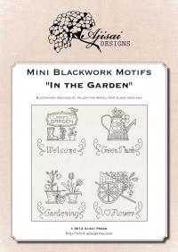 Mini motivi Blackwork: In giardino
