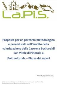 Lapis <br />Proposte metodologiche <br />per Piazza dei Saperi a Pinerolo