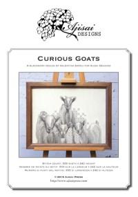 Valentina Sardu <br />Curious Goats | Caprette curiose – Schema cartaceo