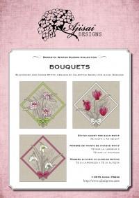 Ricamo Punto Croce e Blackwork: Bouquets<br /> Ebook da scaricare