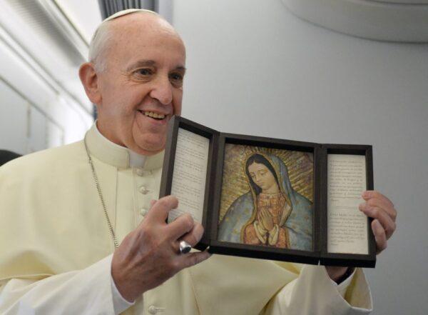 Papa Francesco e la Madonna di Guadalupe