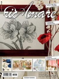 La rivista RicAmare <br />dedica la copertina <br />al blackwork di Valentina Sardu