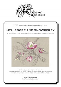 Valentina Sardu <br />Hellebore and Snowberry – Schema cartaceo