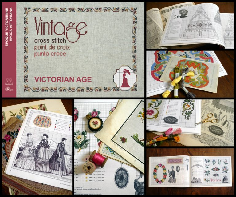 Vintage Cross Stitch - Victorian Age